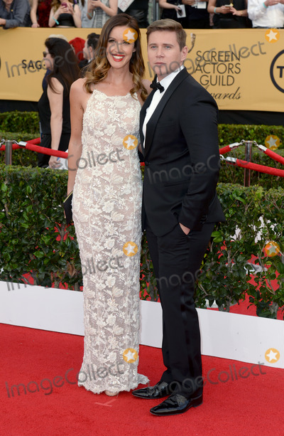 Allen Leech Photo - Photo by DPstarmaxinccomSTAR MAX2015ALL RIGHTS RESERVEDTelephoneFax (212) 995-119612515Allen Leech arriving on the red carpet at the 21st Annual Screen Actors Guild Awards held at the Shrine Auditorium(Los Angeles USA)