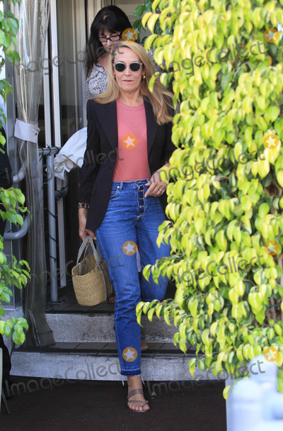 Anjelica Huston Photo - Photo by SMXRFstarmaxinccomSTAR MAX2018ALL RIGHTS RESERVEDTelephoneFax (212) 995-11968718Anjelica Huston and Jerry Hall are seen in Los Angeles CA