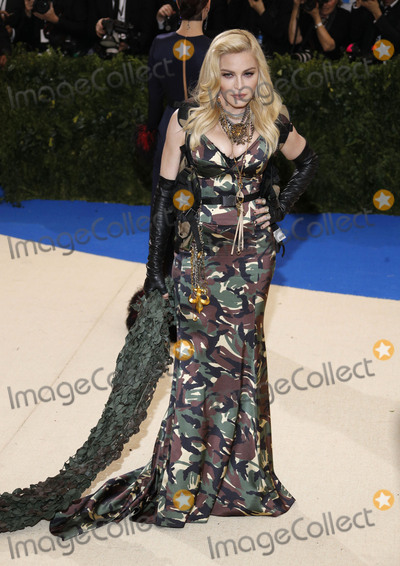 Madonna Photo - Photo by XPXstarmaxinccomSTAR MAXCopyright 2017ALL RIGHTS RESERVEDTelephoneFax (212) 995-11965117Madonna at the 2017 Costume Institute Gala - Rei KawakuboComme des Garcons Art Of The In-Between(Metropolitan Museum of Art NYC)