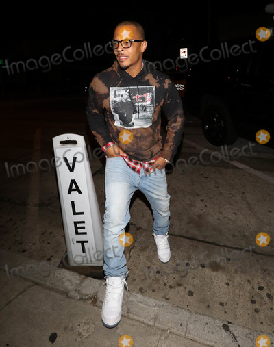 TI Photo - Photo by gotpapstarmaxinccomSTAR MAX2018ALL RIGHTS RESERVEDTelephoneFax (212) 995-1196101118TI is seen at Craigs in West Hollywood CA