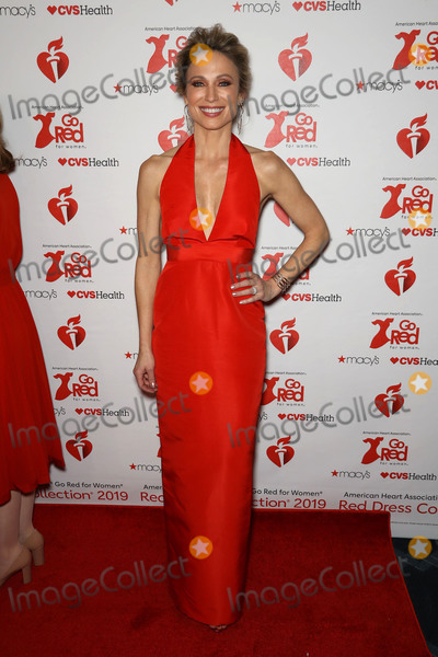 Amy Robach Photo - Photo by zzJohn NacionstarmaxinccomSTAR MAXCopyright 2019ALL RIGHTS RESERVEDTelephoneFax (212) 995-11962719Amy Robach at The American Heart Associations Go Red For Women Red Dress Collection Fashion Show during New York Fashion Week in New York City(NYC)