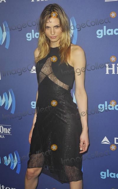 Andreja Pejic Photo - Photo by Patricia SchleinstarmaxinccomSTAR MAX2015ALL RIGHTS RESERVEDTelephoneFax (212) 995-11965915Andreja Pejic at The 26th Annual GLAAD Media Awards(NYC)