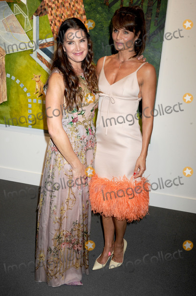 Helena Christensen Photo - Photo by Dennis Van TinestarmaxinccomSTAR MAXCopyright 2017ALL RIGHTS RESERVEDTelephoneFax (212) 995-1196101117Brooke Shields and Helena Christensen at Sothebys Take Home A Nude art party and benefit auction(NYC)