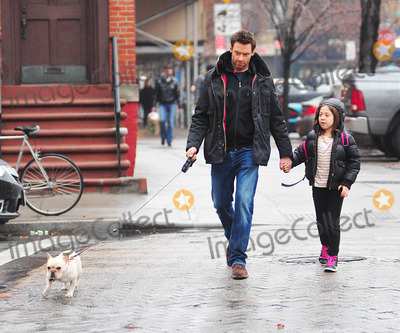 AVA JACKMAN Photo - Photo by Tanya Keseystarmaxinccom2012ALL RIGHTS RESERVEDTelephoneFax (212) 995-1196121012Hugh Jackman and Ava Jackman out and about(NYC)