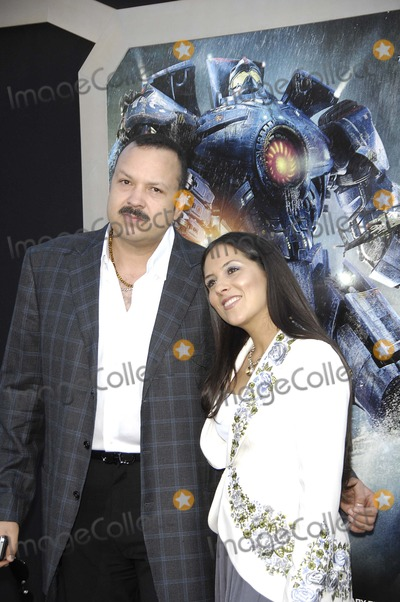 Aneliz Aguilar Photo - Pepe Aguilar and Aneliz Aguilar during the premiere of the new movie from Warner Bros Pictures PACIFIC RIM held at the Dolby Theater on July 9 2013 in Los AngelesPhoto Michael Germana Star Max