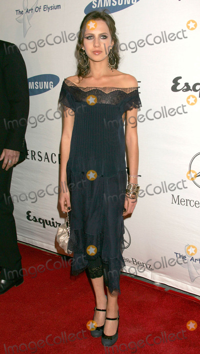 Allegra Versace Photo - Photo by REWestcomstarmaxinccom2006101906Allegra Versace at the opening night of the Esquire House 360 to benefit The Art of Elysium(Beverly Hills CA)