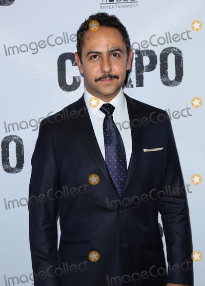 El Chapo Photo - Photo by gotpapstarmaxinccomSTAR MAXCopyright 2017ALL RIGHTS RESERVEDTelephoneFax (212) 995-119641917Humberto Busto at the premiere of El Chapo(Los Angeles CA)