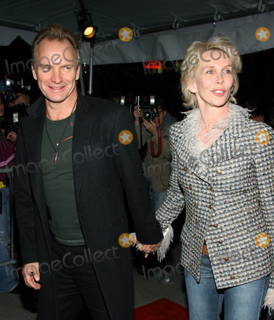 Sting Photo - Photo by Jackson Leestarmaxinccom2005103005Sting and Trudie Styler at the premiere of Derailed(NYC)