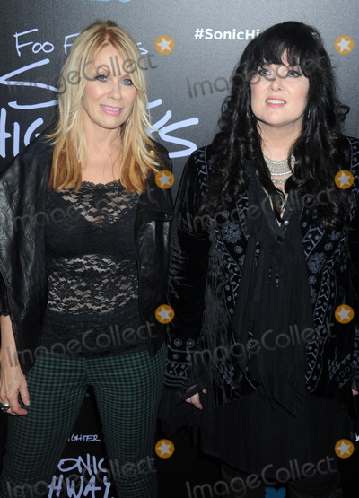 Ann Wilson Photo - Photo by Dennis Van TinestarmaxinccomSTAR MAX2014ALL RIGHTS RESERVEDTelephoneFax (212) 995-1196101414Nancy Wilson and Ann Wilson of Heart at the Foo Fighters Sonic Highways Premiere(NYC)