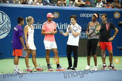 Angelique Kerber Photo - Photo by John NacionstarmaxinccomSTAR MAX2017ALL RIGHTS RESERVEDTelephoneFax (212) 995-119682617Angelique Kerber Rafael Nadal Venus Williams and Roger Federer at Arthur Ashe Kids in Queens New York