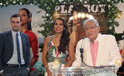 Raquel Pomplun Photo - Photo by REWestcomStarmaxinccom2013ALL RIGHTS RESERVEDTelephoneFax (212) 995-11965913Cooper Hefner 2013 Playmate Of The Year - Raquel Pomplun Hugh Hefner Playboys 2013 Playmate Of The Year luncheon at The Playboy Mansion (Holmby Hills CA)