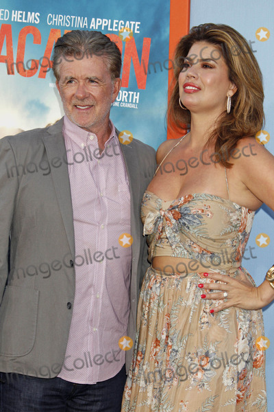 Alan Thicke Photo - Photo by REWestcomstarmaxinccomSTAR MAX2015ALL RIGHTS RESERVEDTelephoneFax (212) 995-119672715Alan Thicke and wife Tanya Callau at the premiere of Vacation(Westwood CA)