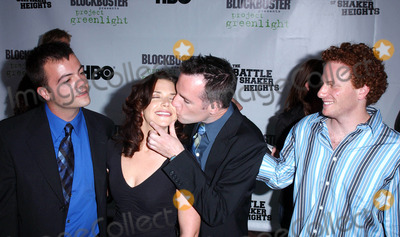 Erica Beeney Photo - Photo by Lee RothSTAR MAX Inc - copyright 200381103Erica Beeney with Kyle Rankin Efram Potelle and Jeff Balis at the world premiere of The Battle Of Shaker Heights(Hollywood CA)