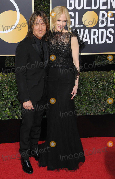 Nicole Kidman Photo - Photo by GalaxystarmaxinccomSTAR MAXCopyright 2018ALL RIGHTS RESERVEDTelephoneFax (212) 995-11961718Keith Urban and Nicole Kidman at the 75th Annual Golden Globe Awards(Beverly Hills CA)s