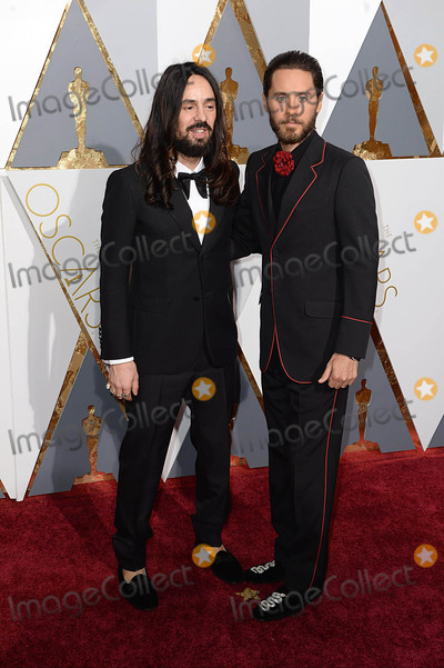 Alessandro Michele Photo - Photo by PDstarmaxinccomSTAR MAX2016ALL RIGHTS RESERVEDTelephoneFax (212) 995-119622816Alessandro Michele and Jared Leto at the 88th Annual Academy Awards (Oscars) in Hollywood CA(Los Angeles USA)
