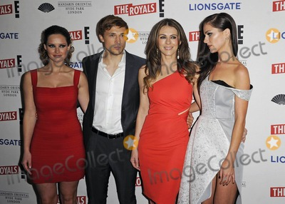 Alexandra Park Photo - Photo by KGC-138starmaxinccomSTAR MAX2015ALL RIGHTS RESERVEDTelephoneFax (212) 995-119632415Merritt Patterson William Moseley Elizabeth Hurley and Alexandra Park at the premiere party for The Royals(Mandarin Hotel London England UK)