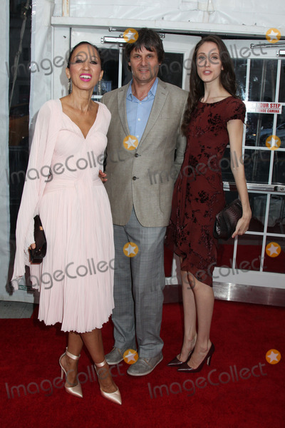 Anna Cleveland Photo - Photo by HQBstarmaxinccom2014ALL RIGHTS RESERVEDTelephoneFax (212) 995-11968614Anna Cleveland Paul Van Ravenstein and Pat Cleveland at the premiere of Life is Amazing(NYC)
