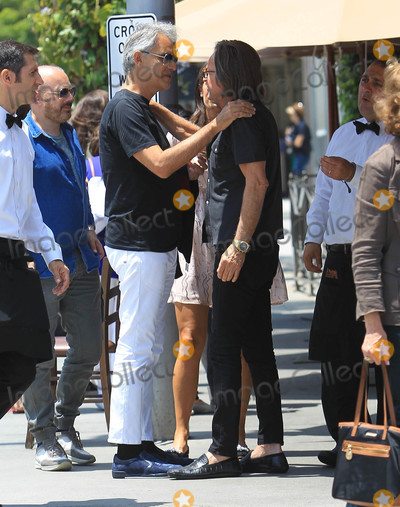 Andrea Bocelli Photo - Photo by SMXRFstarmaxinccomSTAR MAX2018ALL RIGHTS RESERVEDTelephoneFax (212) 995-119662118Andrea Bocelli and Mohammed Hadid are seen in Los Angeles CA