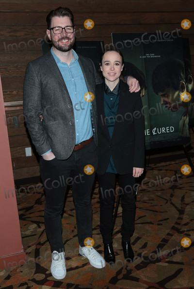 Ellen Page Photo - Photo by gotpapstarmaxinccomSTAR MAX2018ALL RIGHTS RESERVEDTelephoneFax (212) 995-119622018David Freyen and Ellen Page at the premiere of The Cured in Los Angeles CA