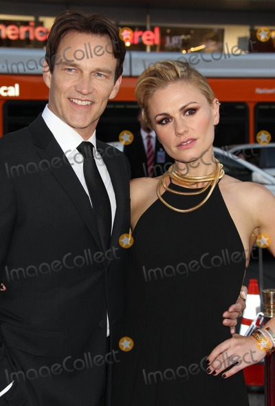 Anna Paquin- Photo - Photo by REWestcomstarmaxinccomSTAR MAX2014ALL RIGHTS RESERVEDTelephoneFax (212) 995-119661714Stephen Moyer and Anna Paquin at the 7th and final season premiere of True Blood(Hollywood CA)