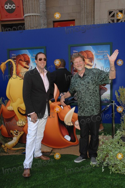 Roger Allers Photo - Bob Minkoff and Roger Allers during the premiere Walt Disney Studios re-release of the THE LION KING 3D held at the El Capitan Theatre on August 27 2011 in Los AngelesPhoto Michael Germana Star Max