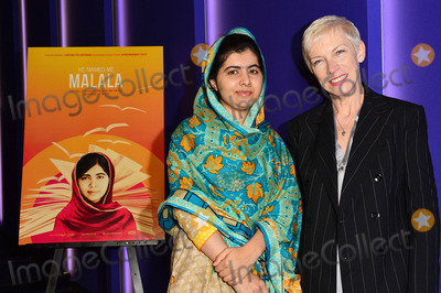 Annie Lennox Photo - Photo by KGC-42starmaxinccomSTAR MAXCopyright 2015ALL RIGHTS RESERVEDTelephoneFax (212) 995-1196102215Malala Yousafzai and Annie Lennox at a special screening of He Named Me Malala  The event was attended by The Yousafzai Family and hosted by The Malala Fund and Ms Lennox(London England UK)