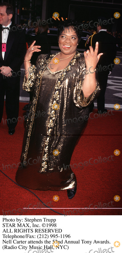Nell Carter Photo - Photo by Stephen TruppSTAR MAX Inc - copyright 1998Nell Carter