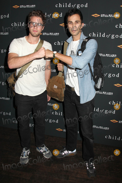 Ariel Schulman Photo - Photo by HQBstarmaxinccom2014ALL RIGHTS RESERVEDTelephoneFax (212) 995-119673013Henry Joost and Ariel Schulman at the premiere of Child of God(NYC)