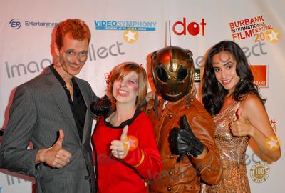 Valerie Perez Photo - NORTH HOLLYWOOD CA - SEPTEMBER 17 Actor Doug Jones actress Kelby LeNorman actor Sam McClellan and actress Valerie Perez at A Night of Science Fiction Fantasy  Horror in Conjunction with The Burbank Film Festival After Party at TDJ Studios on September 17 2011  in North Hollywood California  (Albert L OrtegaImageCollectcom)