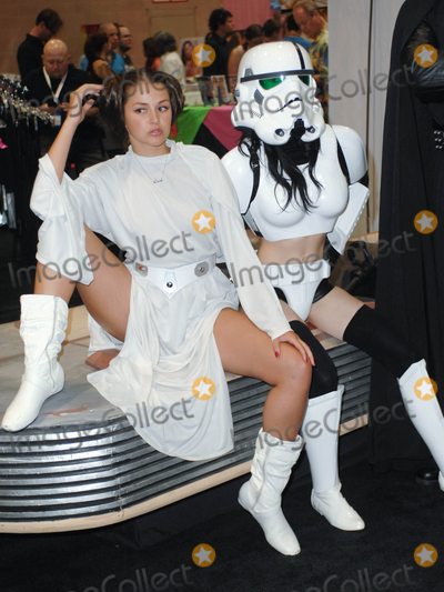 Allie Haze Photo - LOS ANGELES CA - AUGUST 27  Adult Film Star Allie Haze and Darth Vader eXXXotica Los Angeles  at the Los Angeles COnvention Center West Hall on August 27 2011  in Downtown Los Angeles California  (Albert L OrtegaImageCollectcom)