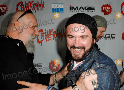 AJ Bowen Photo - HOLLYWOOD CA - SEPTEMBER 15 Actor RA Mihailoff and actor AJ Bowen at the World Premiere of Chillerama at Hollywood Forever Cemetary on September 15 2011  in Hollywood California  (Albert L OrtegaImageCollectcom)
