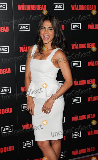Azita Ghanizada Photo - LOS ANGELES CA - OCTOBER 3 Actress Azita Ghanizada at Premiere Screening of AMCs The Walking Dead Season 2 held at Regal Cinema 16 at LA Live on Monday October 3 2011  in Los Angeles California  (Albert L OrtegaImageCollectcom)