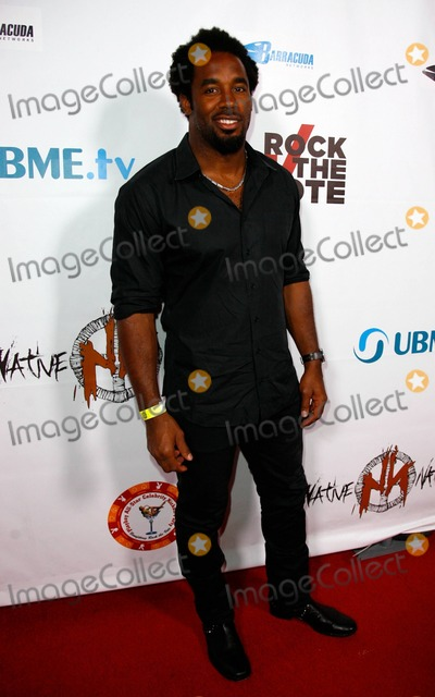 Rock The Vote Photo - Dhani Jones at the official Playboy All-Star Celebrity Off Party Benefiting Rock the Vote at Boulevard 3 Los Angeles CA 71111