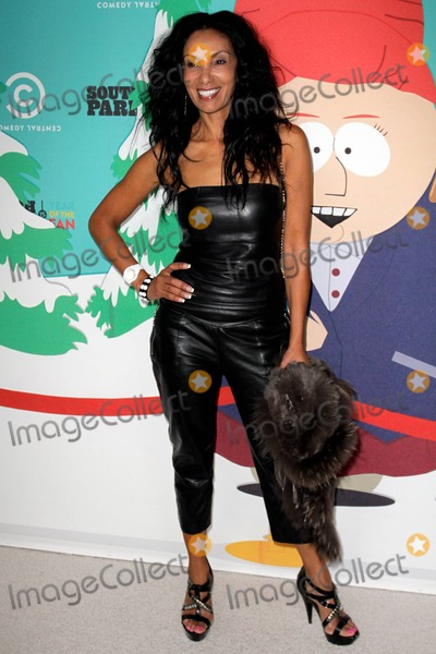 Downtown Julie Brown Photo - TV personality Downtown Julie Brown arriving at South Parks 15th Anniversary Party in Santa Monica CA 20th September 2011