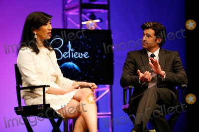 ANDREA JUNG Photo - Patrick Dempsey and Avon CEO Andrea Jung commemorate Avons 125th Anniversary year with a celebration for more than 5000 Avon representatives During the event which was the third of a 16-city global Believe tour Haven Hills was presented with a 60000 grant from the 1 million Avon Global Believe Fund was announced The Fund was set up to provide financial support to womens shelters and other domestic violence programs Haven Hills provides services for domestic violence victims and their families in the San Fernando Valley Los Angeles CA 2911