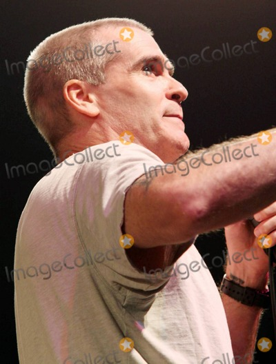 Henry Rollins Photo - Singer writer stand up comedian DJ and spoken word artist Henry Rollins performs his spoken word act live at the Sonisphere Festival a rock metal electro and punk traveling music event held at Knebworth House and Park Knebworth UK 080110