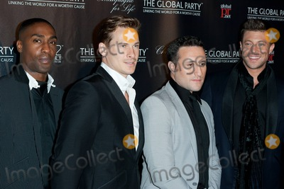 Antony Costa Photo - Simon Webbe Lee Ryan Antony Costa and Duncan James of Blue attend the world wide launch of The Global Party at Natural History Museum London UK 8th September 2011