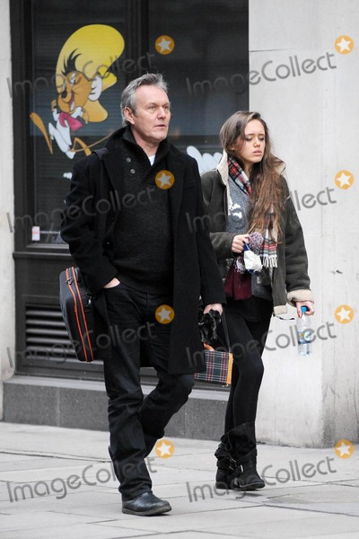Anthony Head Photo - Actor Anthony Head who is slatted to star alongside Meryl Streep in the Margaret Thatcher biopic The Iron Lady goes for a stroll with daughter Daisy Head 19 and later stops in a BBC Broadcasting House London UK 012211
