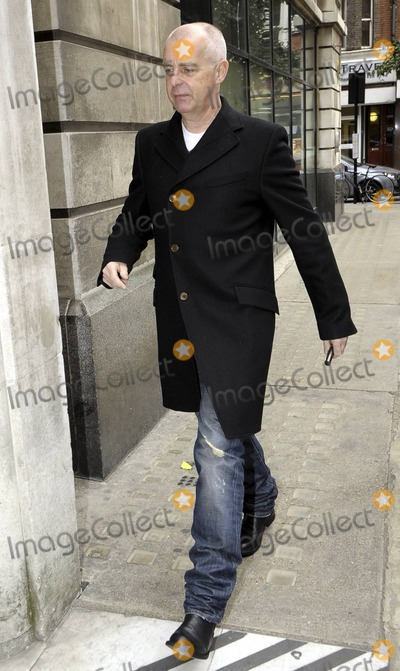 Neil Tennant Photo - EXCLUSIVE The Pet Shop Boys Neil Tennant looks a bit grumpy as he arrives at BBC Radio 2 even passing by a fan seeking an autograph London UK 102210Fees must be agreed prior to publication