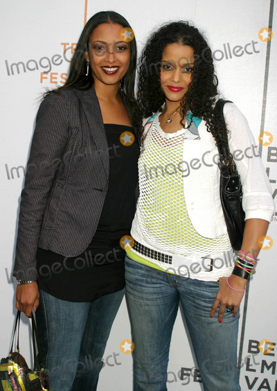 Anika Poitier Photo - Anika Poitier and Sydney Tamiia Poitier Arriving at the Tribeca Film Festival Premiere of the Devil Cats at United Artists Battery Park Theatres in New York City on May 6 2004 Photo by Henry McgeeGlobe Photos Inc 2004