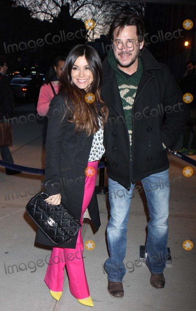 Ricky Paull Goldin Photo - Gretta Monahan and Ricky Paull Goldin Arriving at a Screening of Trance at Sva Theater in New York City on 04-02-2013 Photo by Henry Mcgee-Globe Photos Inc 2013