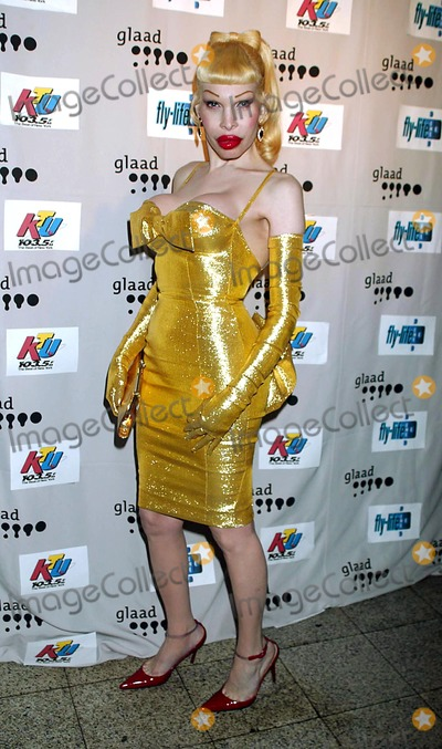 Amanda Lepore Photo - Amanda Lepore at the Real Thing Benefit For Glaad at Roxy in New York City on May 8 2003 Photo by Henry McgeeGlobe Photos Inc 2003 K30535hmc