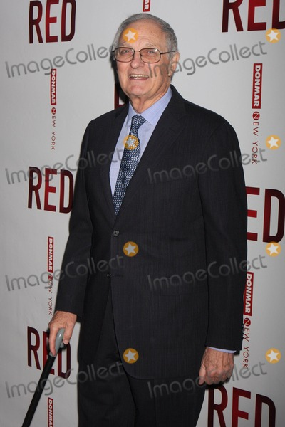Alan Alda Photo - Alan Alda Arriving at the Opening Night Performance of John Logans Red at the Golden Theatre in New York City on 04-01-2010 Photo by Henry Mcgee-Globe Photos Inc 2010