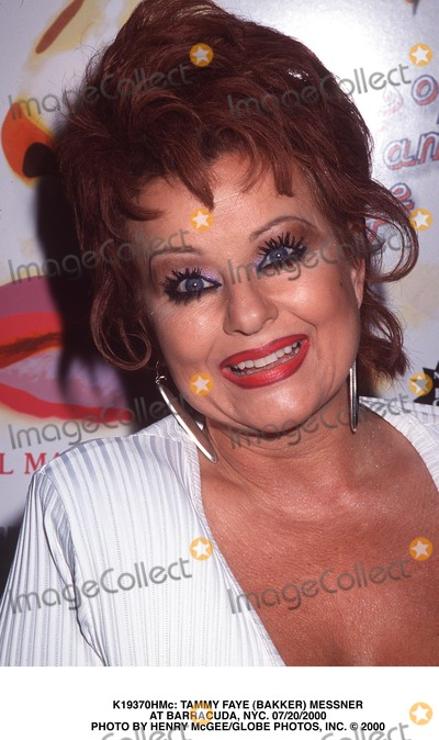 Tammy Faye Baker Photo -  Tammy Faye (Bakker) Messner at Barracuda NYC 07202000 Photo by Henry McgeeGlobe Photos Inc