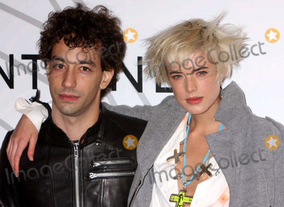 Albert Hammond Jr Photo - Albert Hammond Jr and Agyness Deyn Arriving at the Opening Party For Mobile Art Chanel Contemporary Art Container by Zaha Hadid at Rumsey Playfield Central Park in New York City on 10-21-2008 Photo by Henry McgeeGlobe Photos Inc 2008