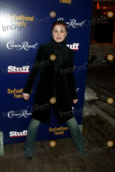 Anna Paquin Photo - Anna Paquin at a Party For Miramax Films Dysfunktional Family at the Village at the Lift in Park City Utah on January 20 2003 Photo by Henry McgeeGlobe Photos Inc 2003