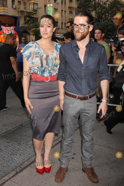 America Olivo Photo - America Olivo and Christian Campbell Arriving at a Screening of Columbia Pictures Total Recall at Chelsea Clearview Cinemas in New York City on 08-02-2012 Photo by Henry Mcgee-Globe Photos Inc 2012
