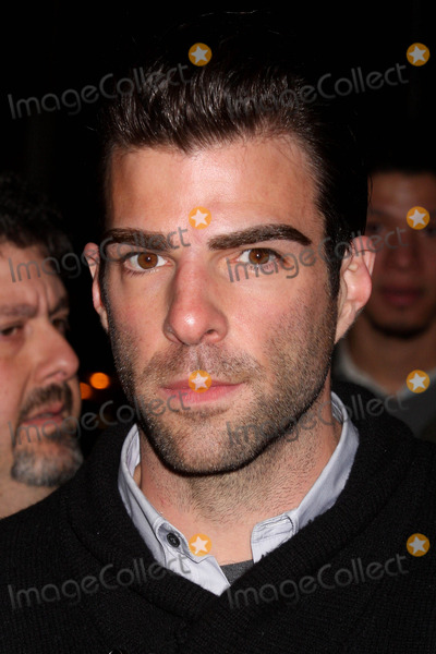 Arthur Miller Photo - Zachary Quinto Arriving at the Opening Night Performance of Arthur Millers a View From the Bridge at the Cort Theatre in New York City on 01-24-2010 Photo by Henry Mcgee-Globe Photos Inc 2010