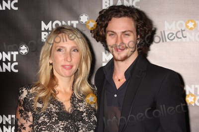 Aaron Johnson Photo - New York NY 09-12-2010Director Sam Taylor-Wood and Aaron Johnson at the global launch of The Montblanc John Lennon Edition and screening of NOWHERE BOY at Jazz at Lincoln CenterDigital photo by Lane Ericcson-PHOTOlinknet