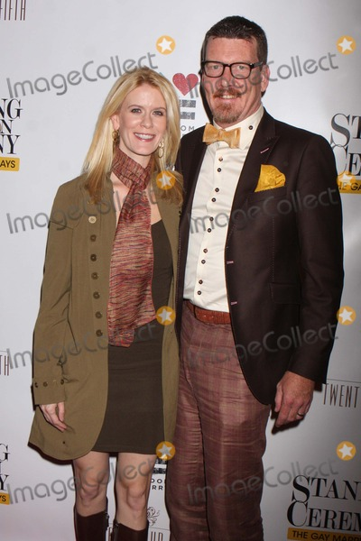 Alex McCord Photo - Alex Mccord and Simon Van Kempen Arriving at the Opening Night Performance of Standing on Ceremony the Gay Marriage Plays at the Minetta Lane Theatre in New York City on 11-13-2011 Photo by Henry Mcgee-Globe Photos Inc 2011